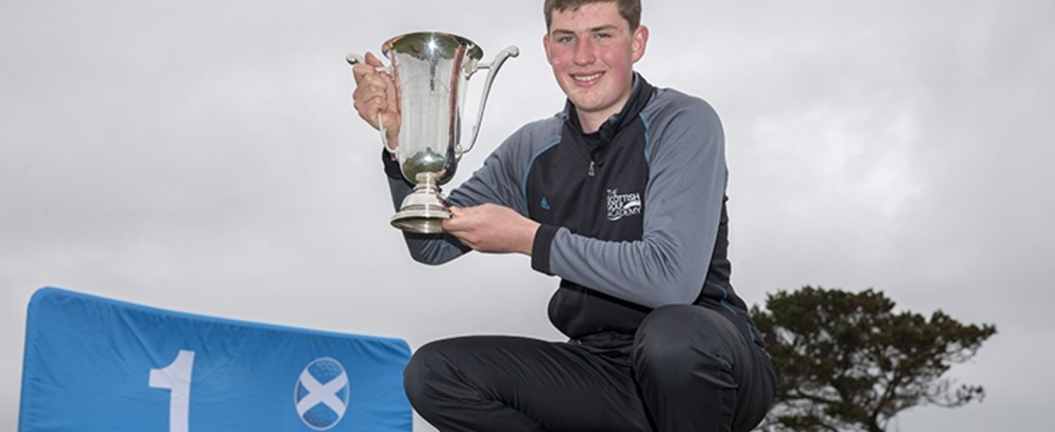 2016 Scottish Boys' Champion - Eric McIntosh