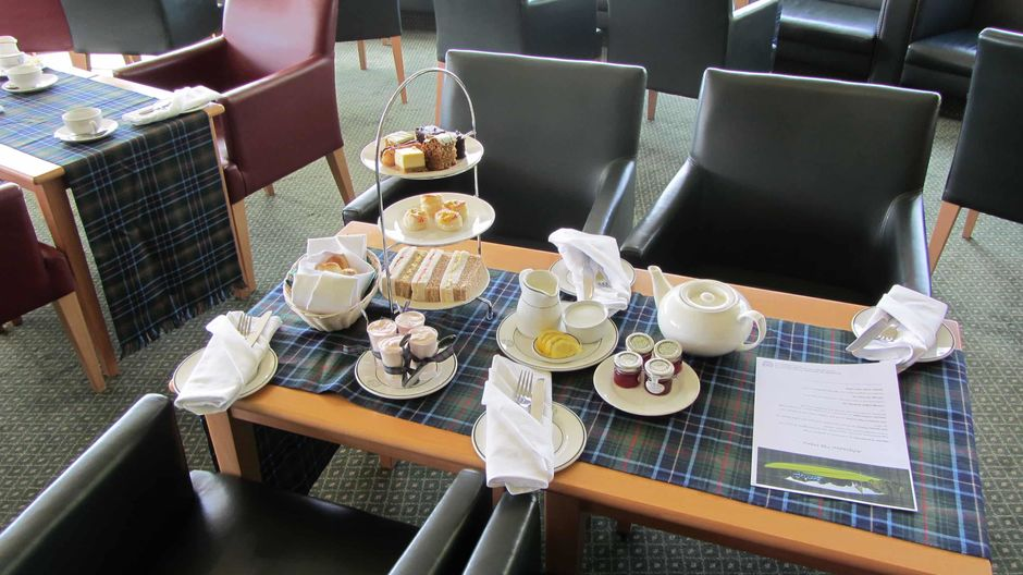 afternoon golf tea edinburgh